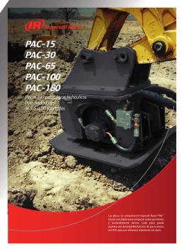 Placas compactadoras hidraulicas