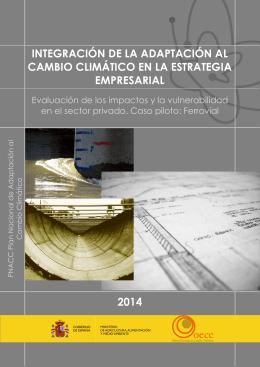 integración de la adaptación al cambio climático en