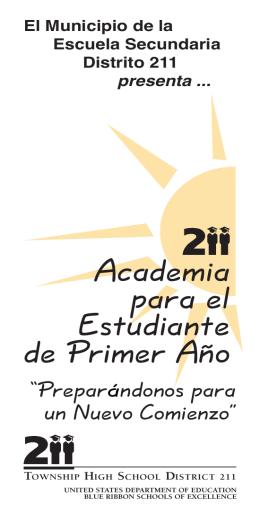 Academia para el Estudiante de Primer Año