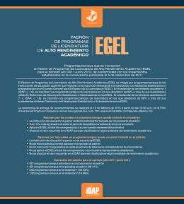 Folleto resultados PPLARA-EGEL Octubre 2012.cdr