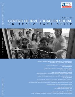 CENTRO DE INVESTIGACIÓN SOCIAL
