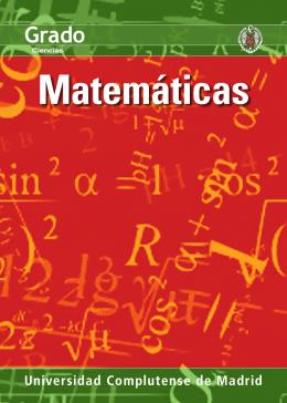 Matemáticas - Universidad Complutense de Madrid