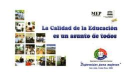 OPINIÓN DE ESTUDIANTES SOBRE CALIDAD DE LA EDUCACIÓN