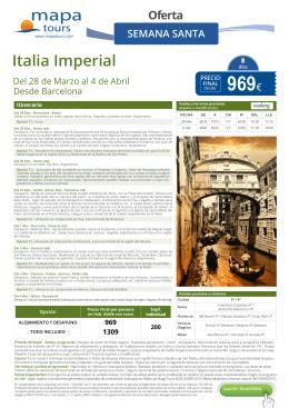 969€ - Mapa Tours