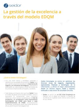 La gestión de la excelencia a través del modelo EDQM