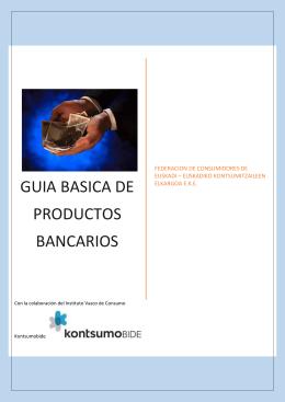 GUIA DE SERVIVIOS BANCARIOS