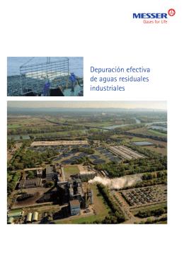 Depuración efectiva de aguas residuales industriales