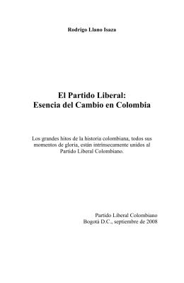 Rodrigo Llano Isaza - Partido Liberal Colombiano