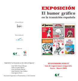 folleto de la exposición