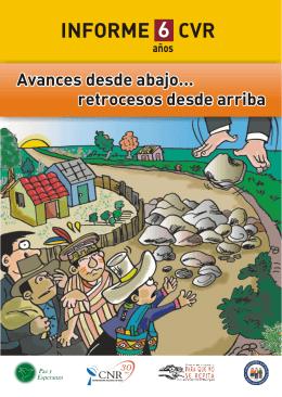 INFORME CVR - Paz y Esperanza