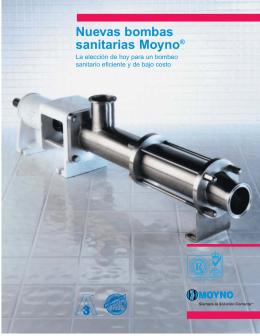 Nuevas bombas sanitarias Moyno®