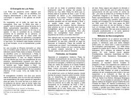 ort01 Evaluación de Luís Palau - Folletos y Tratados Evangelicos