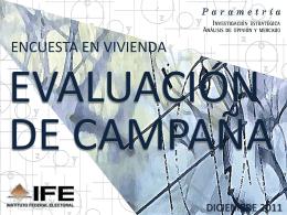 2011 - Instituto Nacional Electoral
