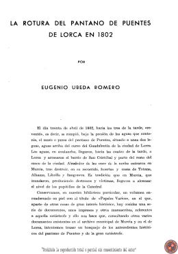 Notas y documentos sobre el reino de Murcia