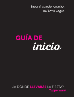 GUÍA DE - RazzMaTazz Sales Organization