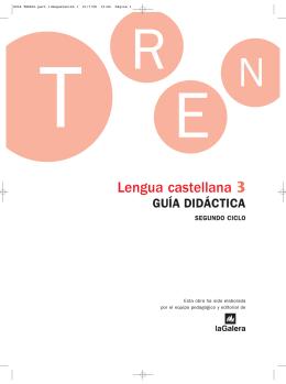 guía didáctica - La Galera: materiales escolares