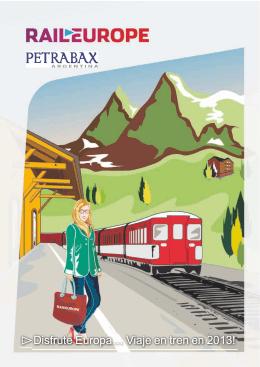 Disfrute Europa… Viaje en tren en 2013!