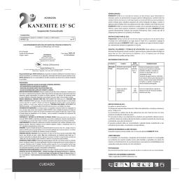 KANEMITE 15® SC - Arysta LifeScience Argentina