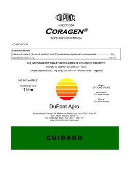 CORAGEN - DuPont