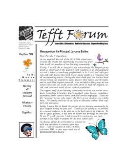 MayJune Newsletter 2014.pmd - U