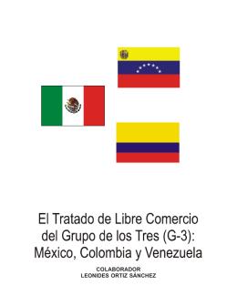 El tratado de Libre Comercio del Grupo de los Tres (G