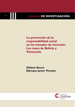La promoción de la responsabilidad social en los tratados de