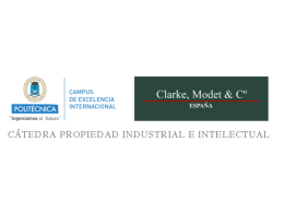Presentación Patente Unitaria