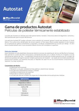 Autostat - MacDermid Autotype