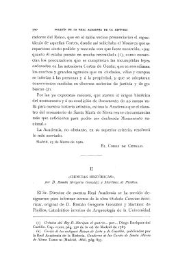 por D. Román Gregorio González y Martínez de Pinillos