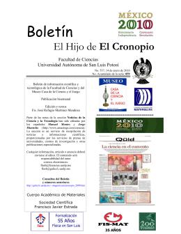 Apaches en México - Facultad de Ciencias