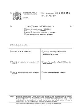PROTESIS DE RODILLA.(ES2065495)