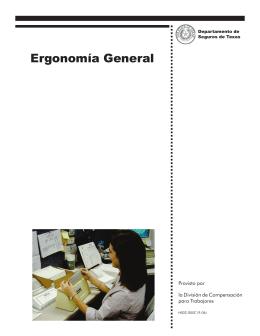 Ergonomía General