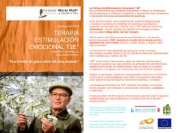 DIRIGIDO: psicólogos y terapeutas ocupacionales así como 2 de