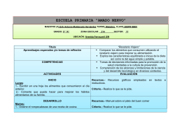 "ESCUELA PRIMARIA ""AMADO NERVO"""