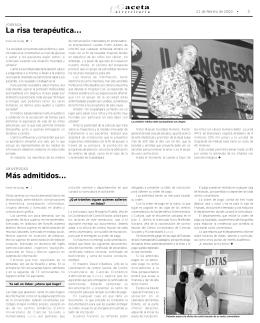 pagina 3. - La gaceta de la Universidad de Guadalajara