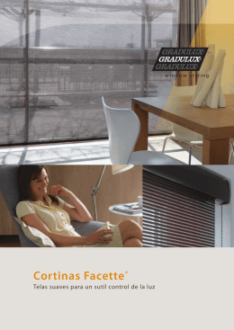Cortinas Facette®