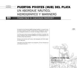 PUERTOS PIVOTES (HUB) DEL PLATA UN