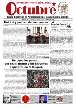Octubre nº 45 (abril 2011) - PCE (m-l)
