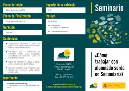 Folleto ISFP