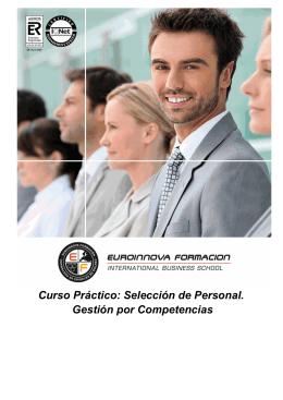 Curso Práctico: Selección de Personal. Gestión por Competencias