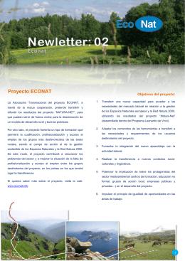Newsletter II Econat ES