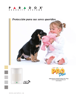Pro Plus & Pro Pet : Protección para sus seres queridos.