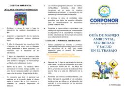 guía de manejo ambiental, seguridad y salud en el trabajo