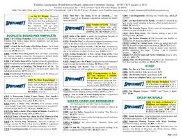 WSOF-04 Literature Catalog
