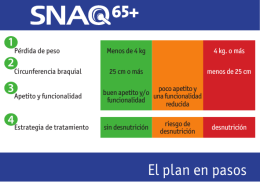 El plan en pasos - Fight Malnutrition