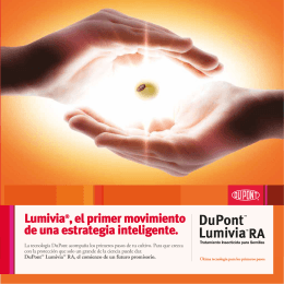 Folleto DuPont™ Lumivia®