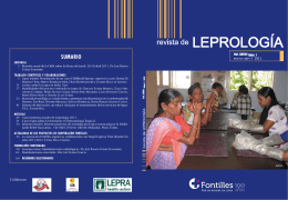 SUMARIO - Leprosy Information Services