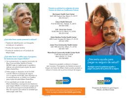 ¿Necesita ayuda para pagar su seguro de salud?