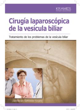 Cirugía laparoscópica de la vesícula biliar