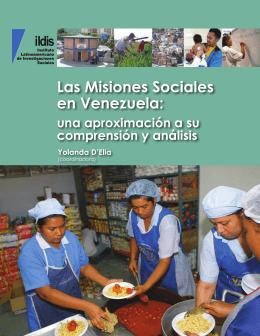 Las Misiones Sociales en Venezuela - Bibliothek der Friedrich